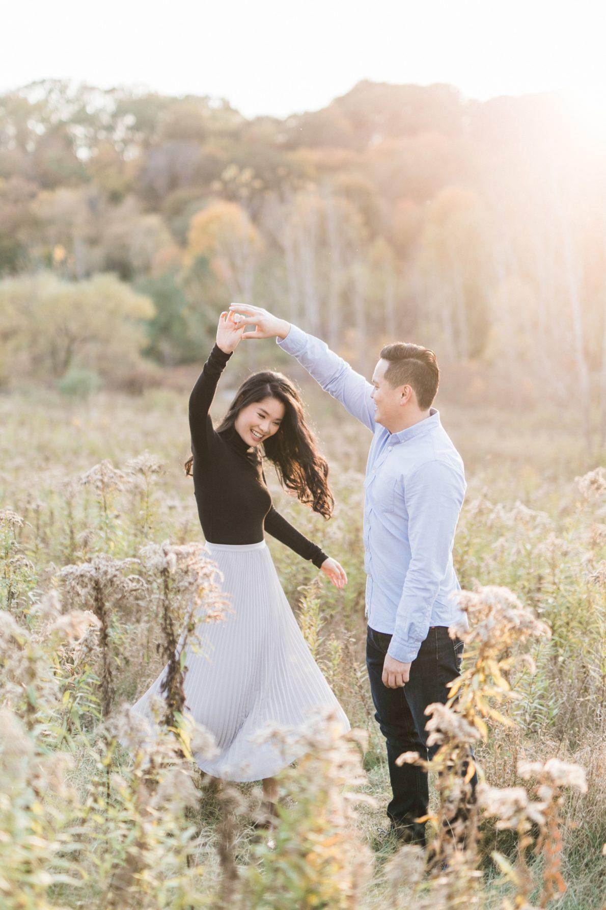 Evergreen Brickworks Fall Engagement
