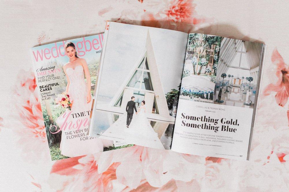 WeddingBells Magazine Featured Conrad Bali Wedding