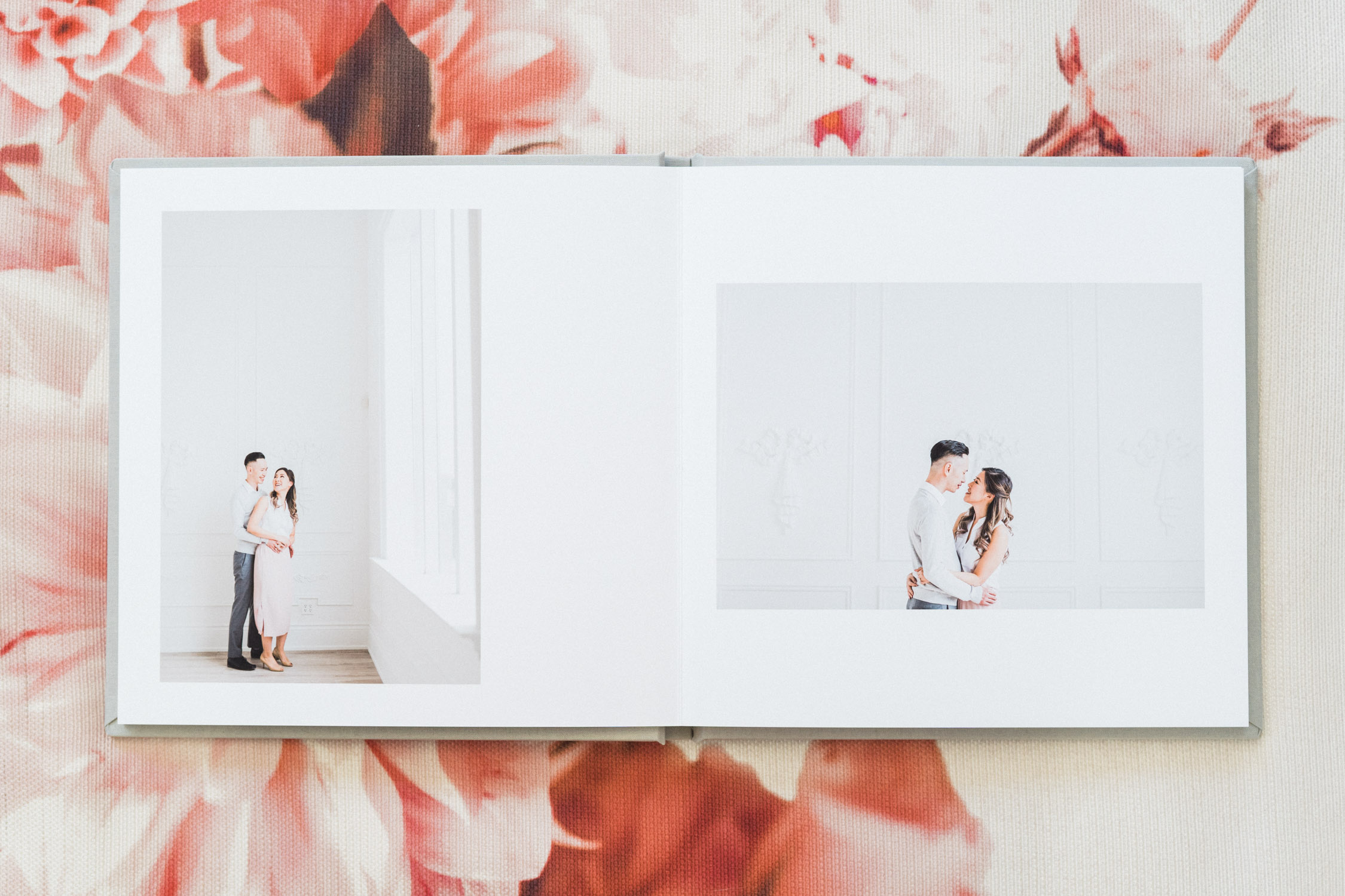 Engagement_Album_Soft_Grey_Guest_Book_Toronto_Wedding_Photographer_Mint_Room_Studios