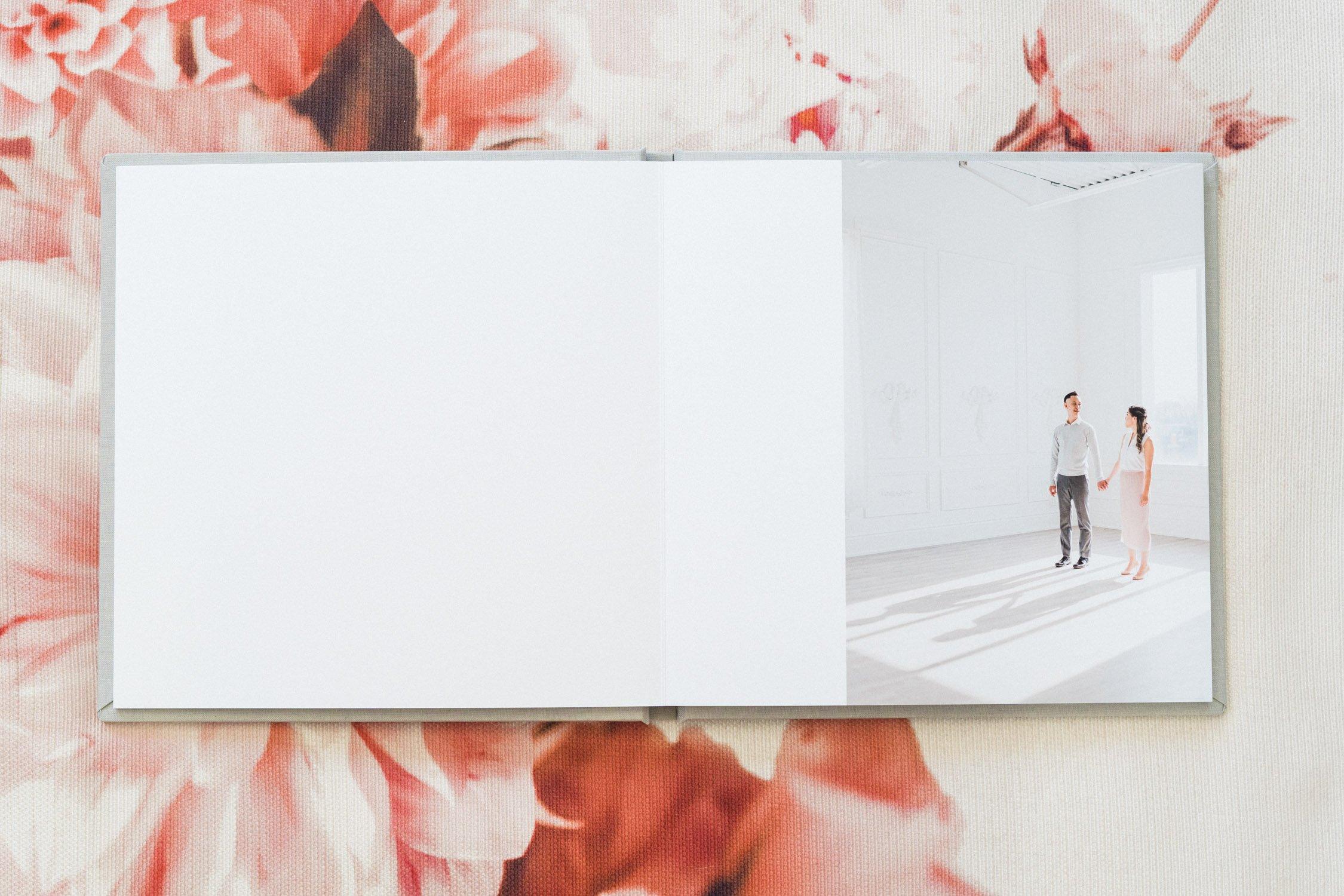 Engagement_Album_Soft_Grey_Guest_Book_Toronto_Wedding_Photographer_Mint_Room_Studios