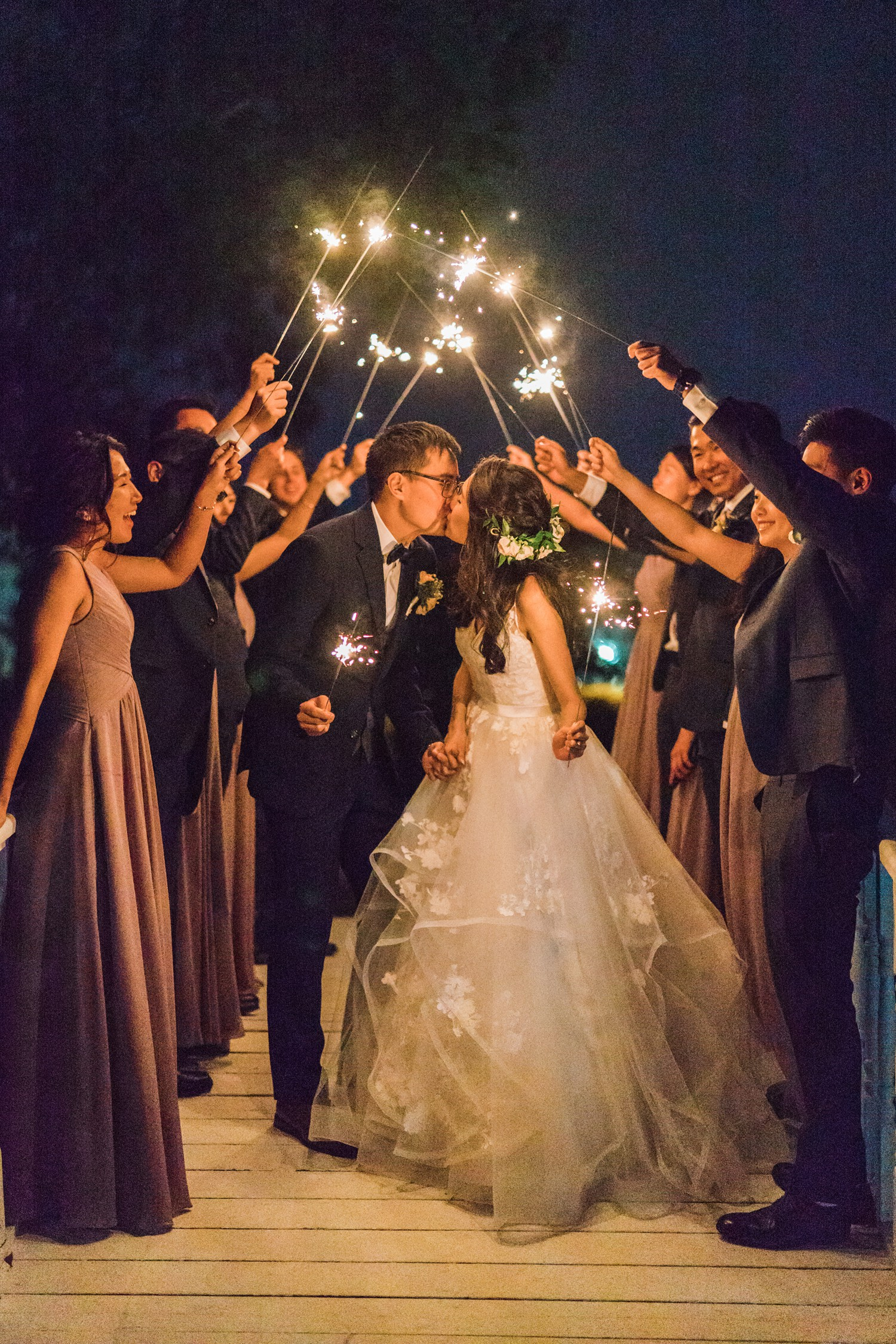 Toronto_Casa_Loma_Wedding_Photos_Castle_Ireland_Sparklers