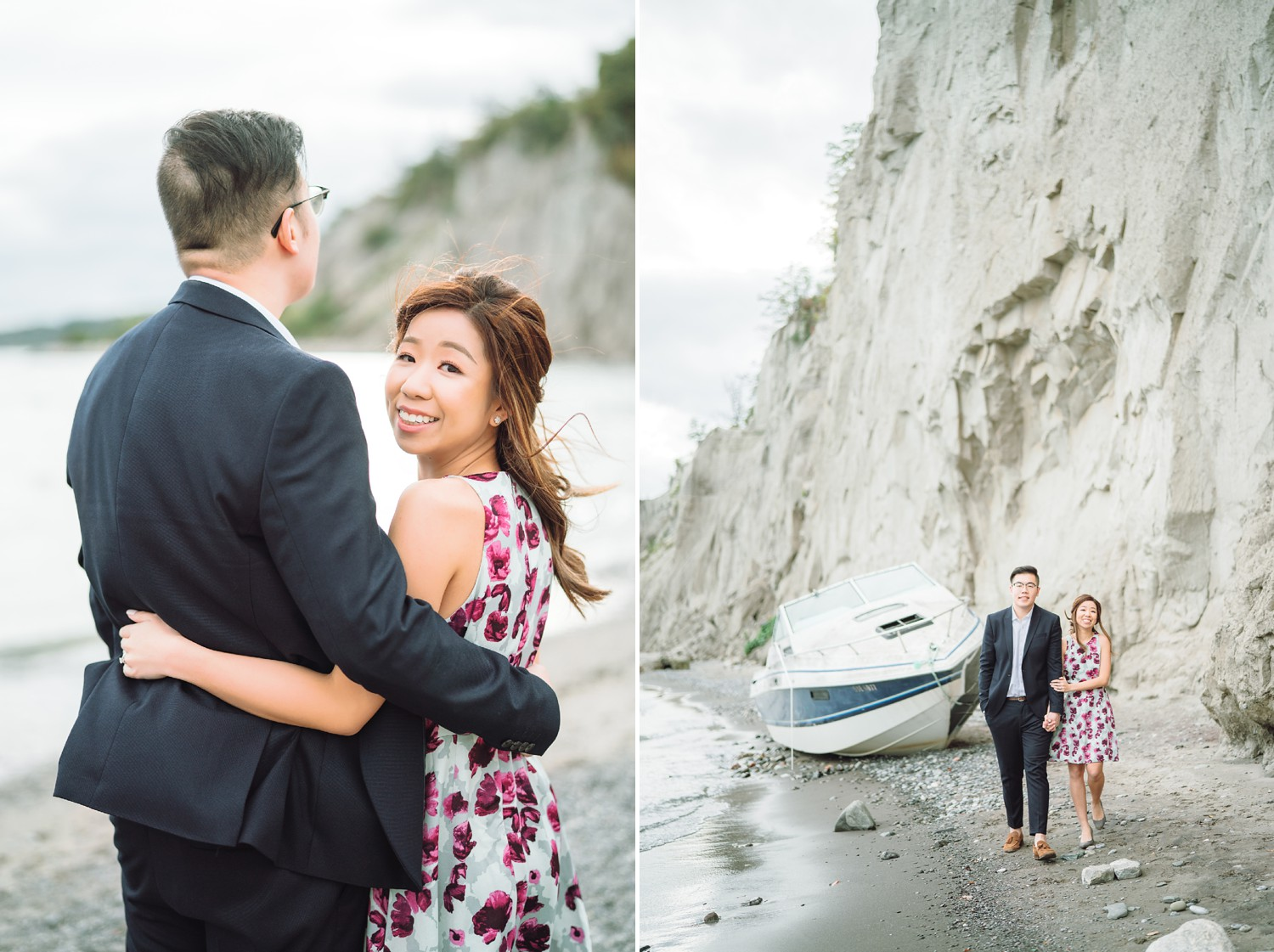 Chinese_Scarborough_Bluffs_Boat_Beach_Fall_Toronto_Engagement_Photos-Rhythm_Photography