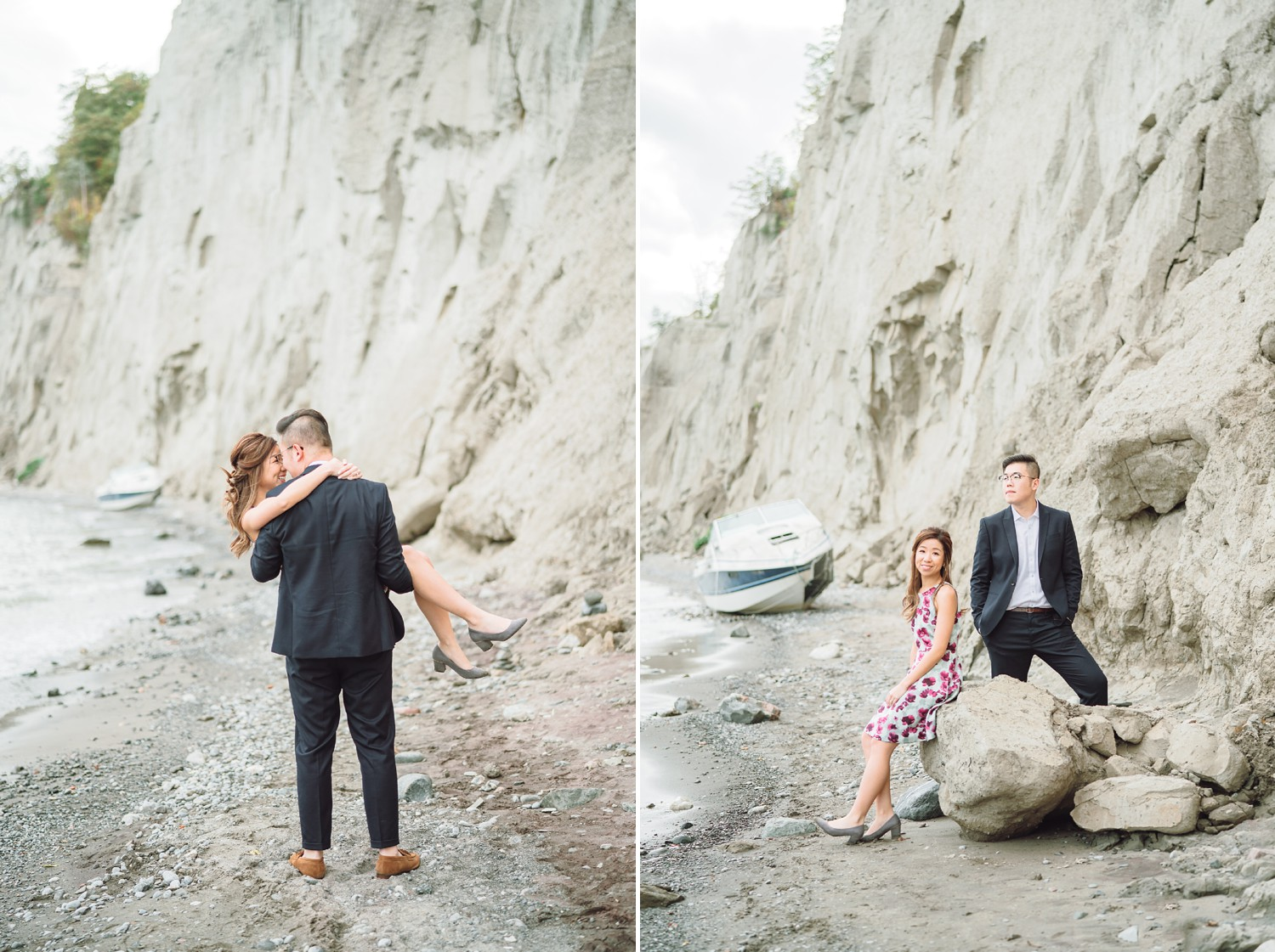 Scarborough_Bluffs_Boat_Beach_Fall_Toronto_Engagement_Photos-Rhythm_Photography