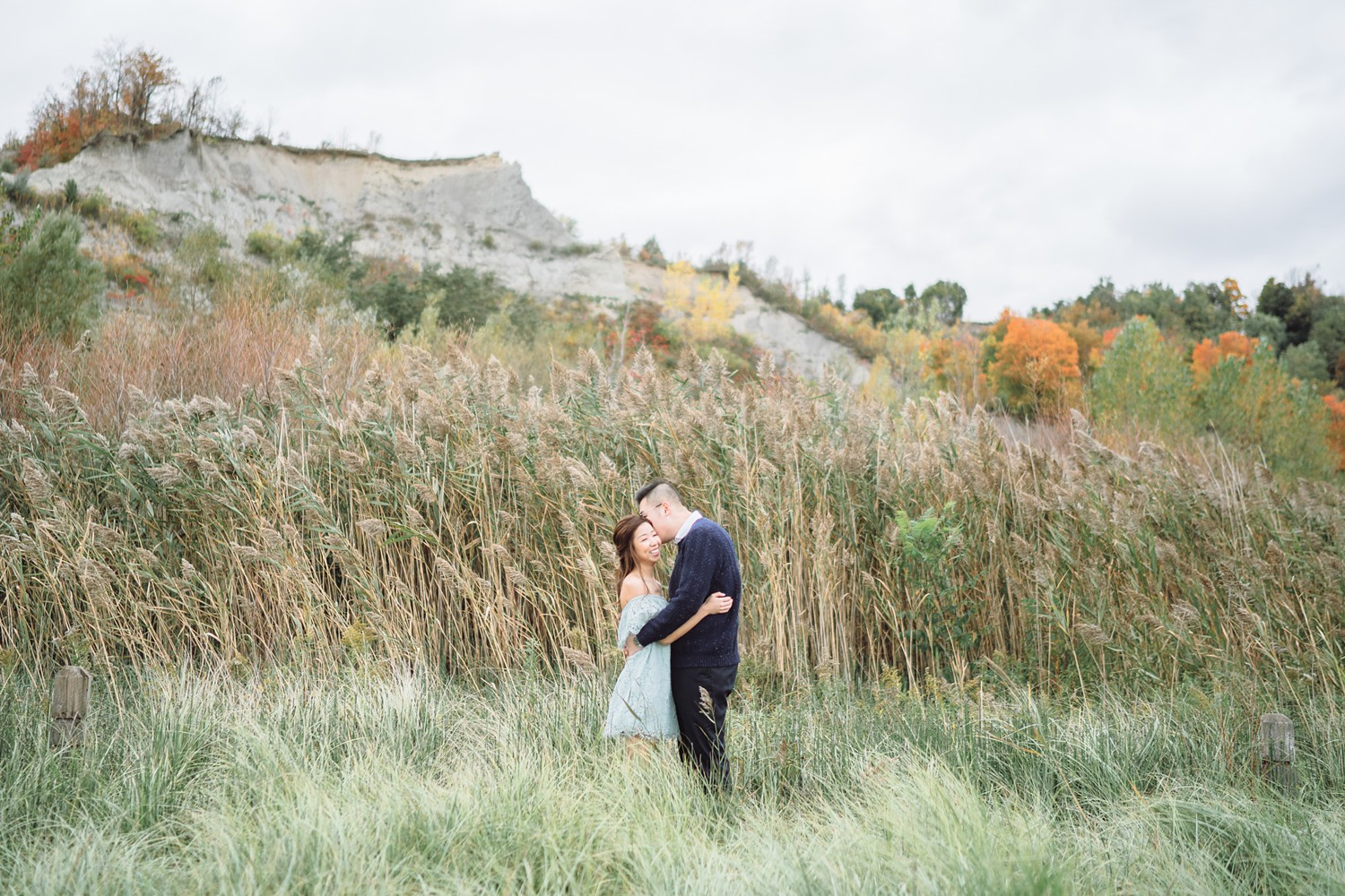 Tall_Grass_Scarborough_Bluffs_Beach_Fall_Toronto_Engagement_Photos-Rhythm_Photography