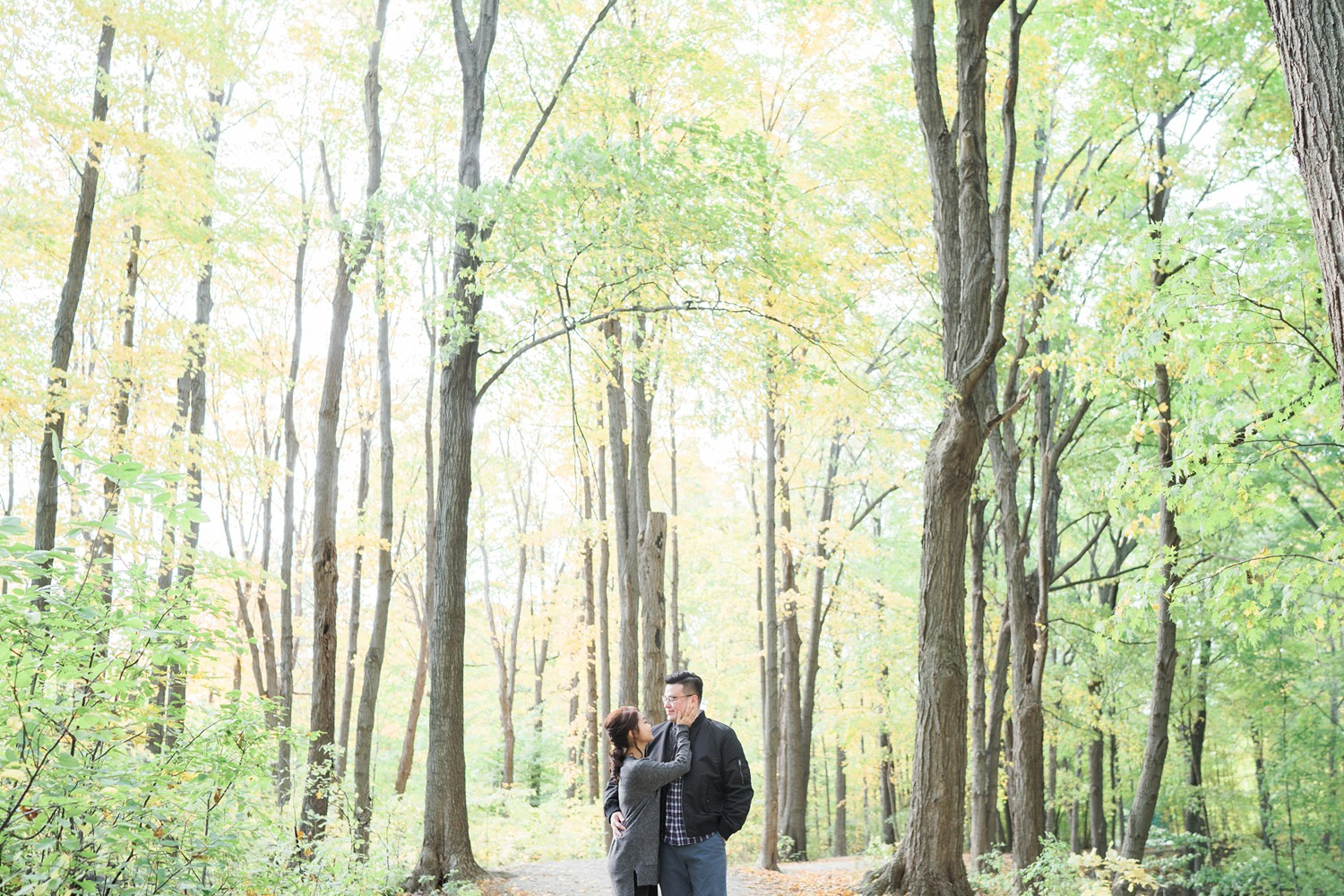 Pastel_Forest_Fall_Colours_Toronto_Earl_Bales_Park_Forest_Fall_Engagement_Photos-Rhythm_Photography