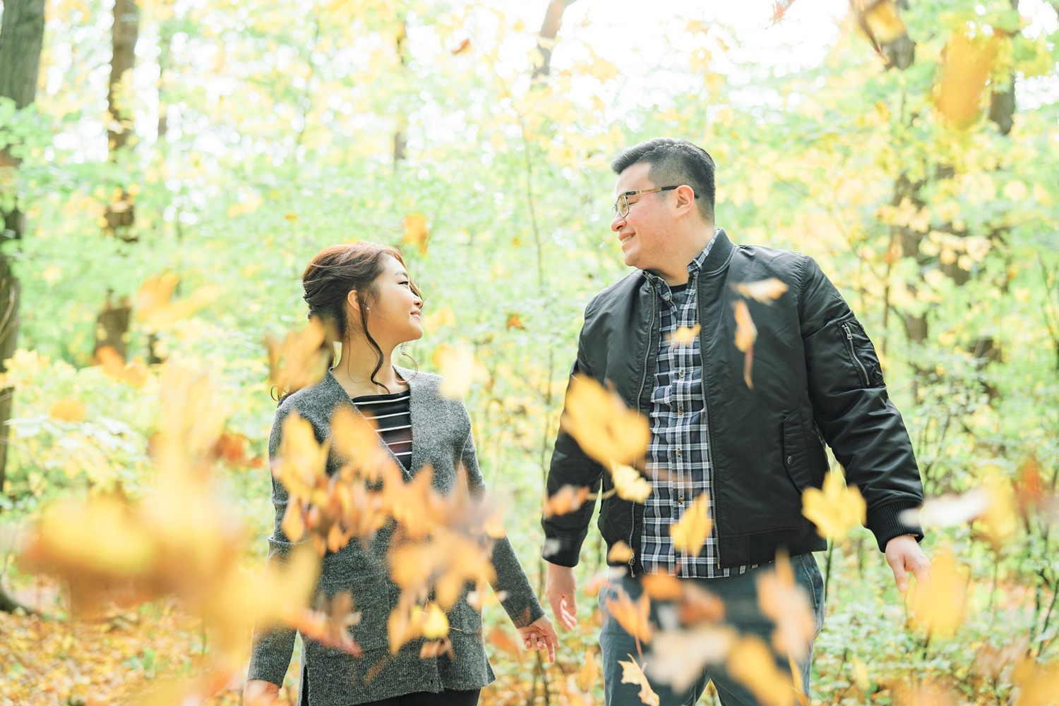 Throwing_Leaves_Toronto_Earl_Bales_Park_Forest_Fall_Engagement_Photos-Rhythm_Photography