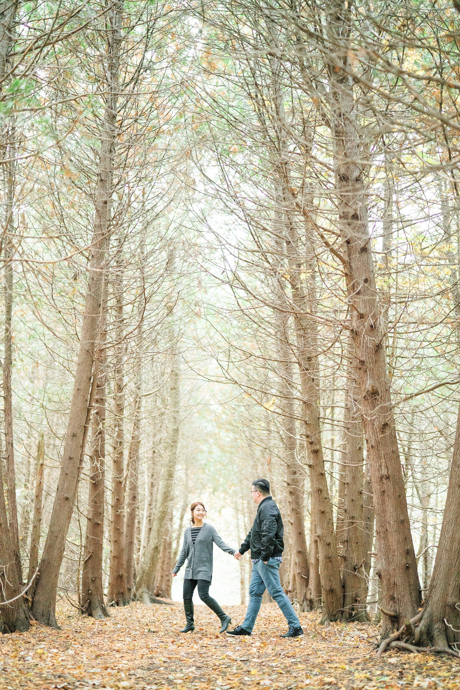 Forest_Photo_Toronto_Earl_Bales_Park_Forest_Fall_Engagement_Photos-Rhythm_Photography