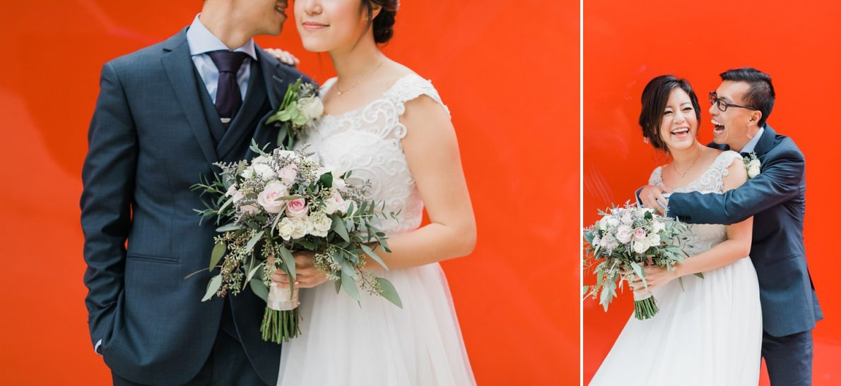 Just Married at Concord City Place Toronto Wedding Photographer
