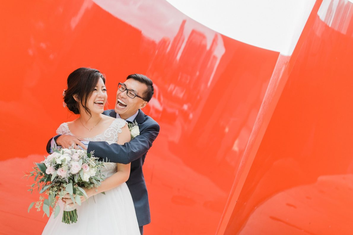 Wedding Portraits at Concord City Place Toronto Wedding Photographer