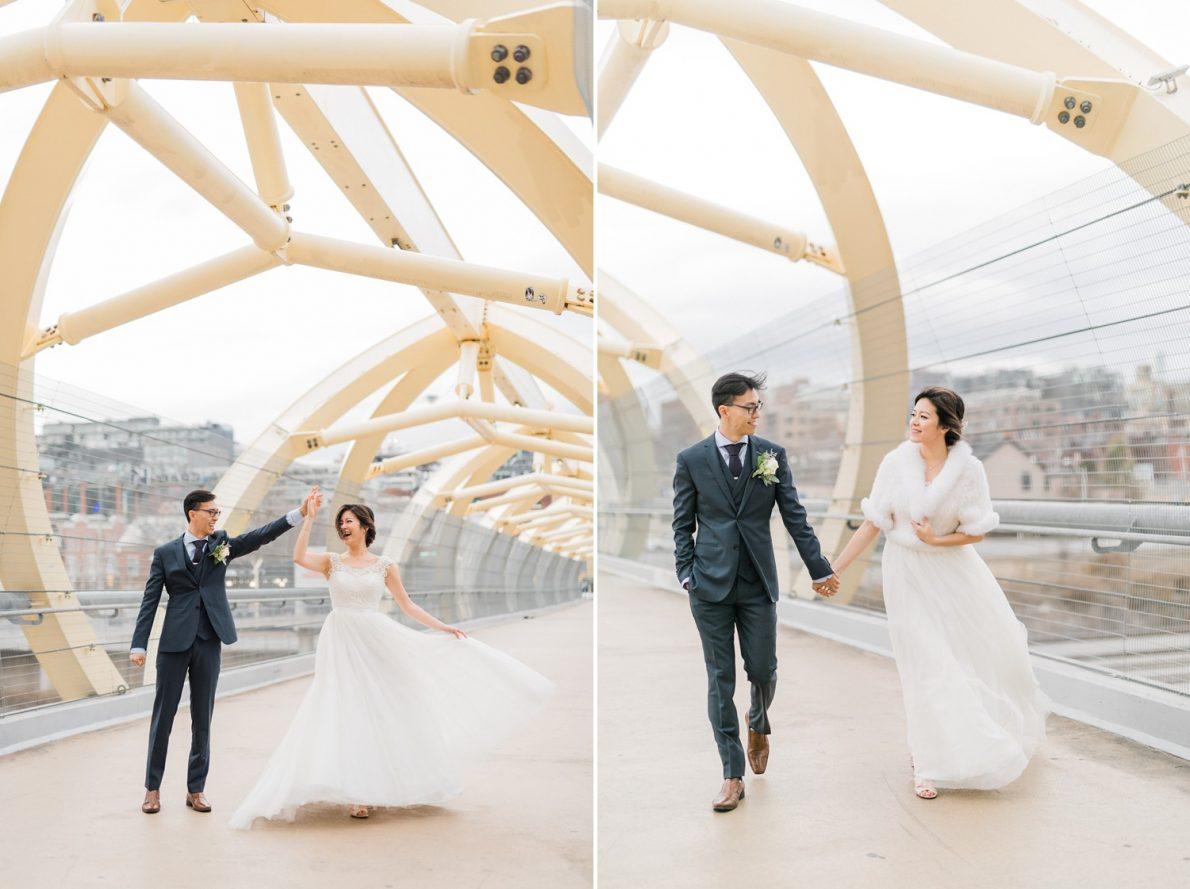Bride and Groom Photos at Downtown Toronto Wedding Photographer