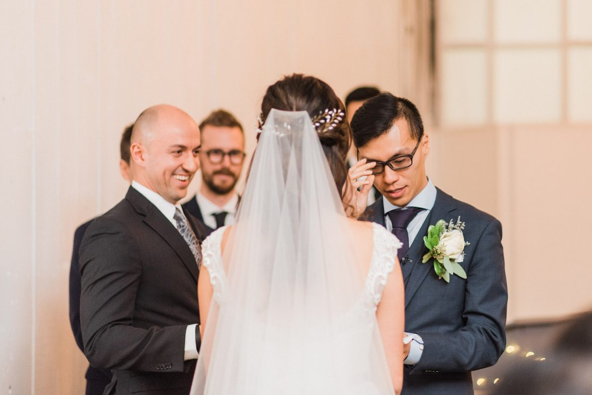 Indoor Ceremony Berkeley Fieldhouse Toronto Wedding Photographer