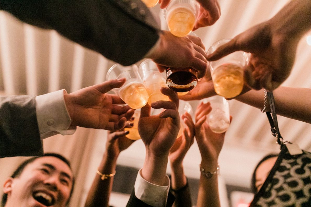 Open Bar at Berkeley Fieldhouse Toronto Wedding Photographer