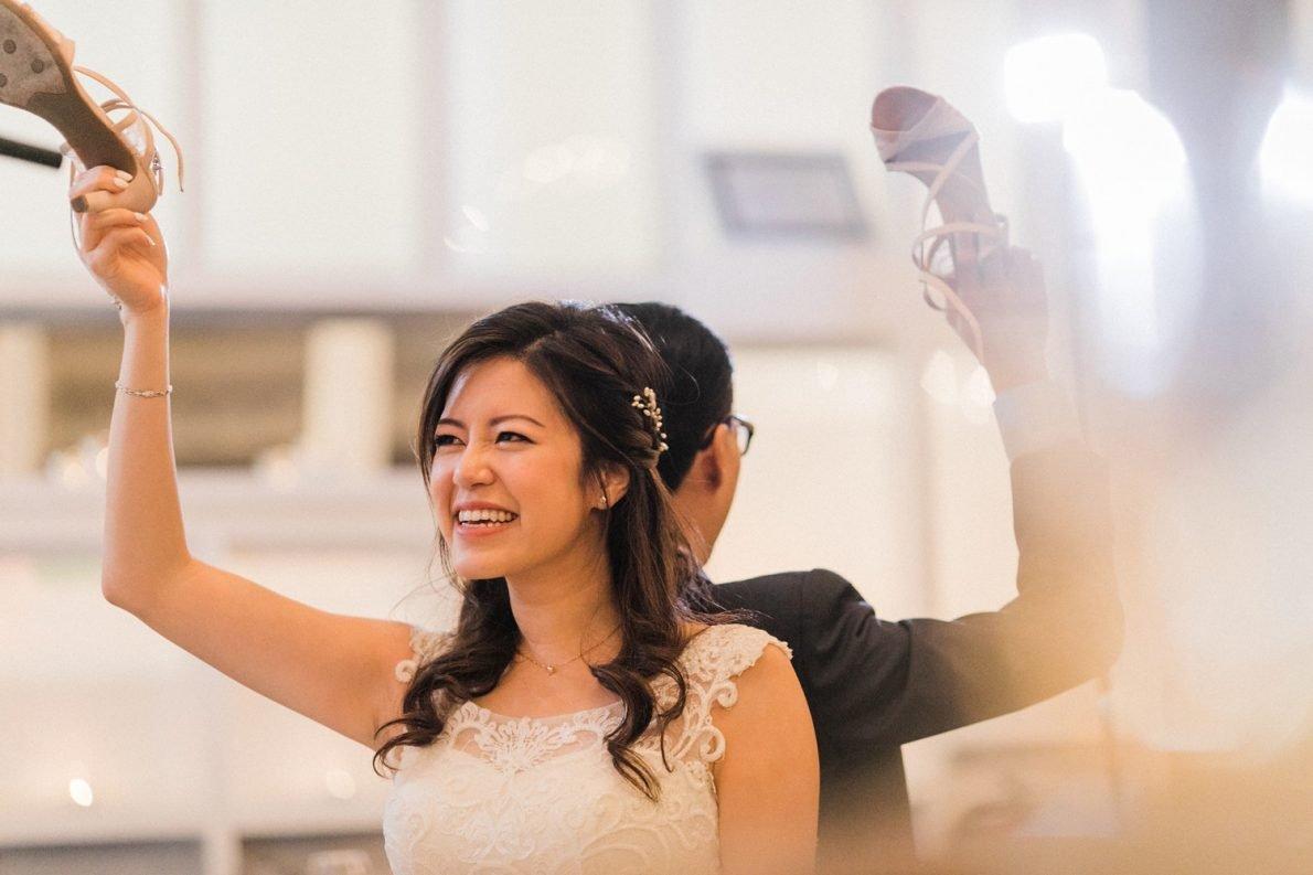 Shoe Game at Berkeley Fieldhouse Toronto Wedding Photographer