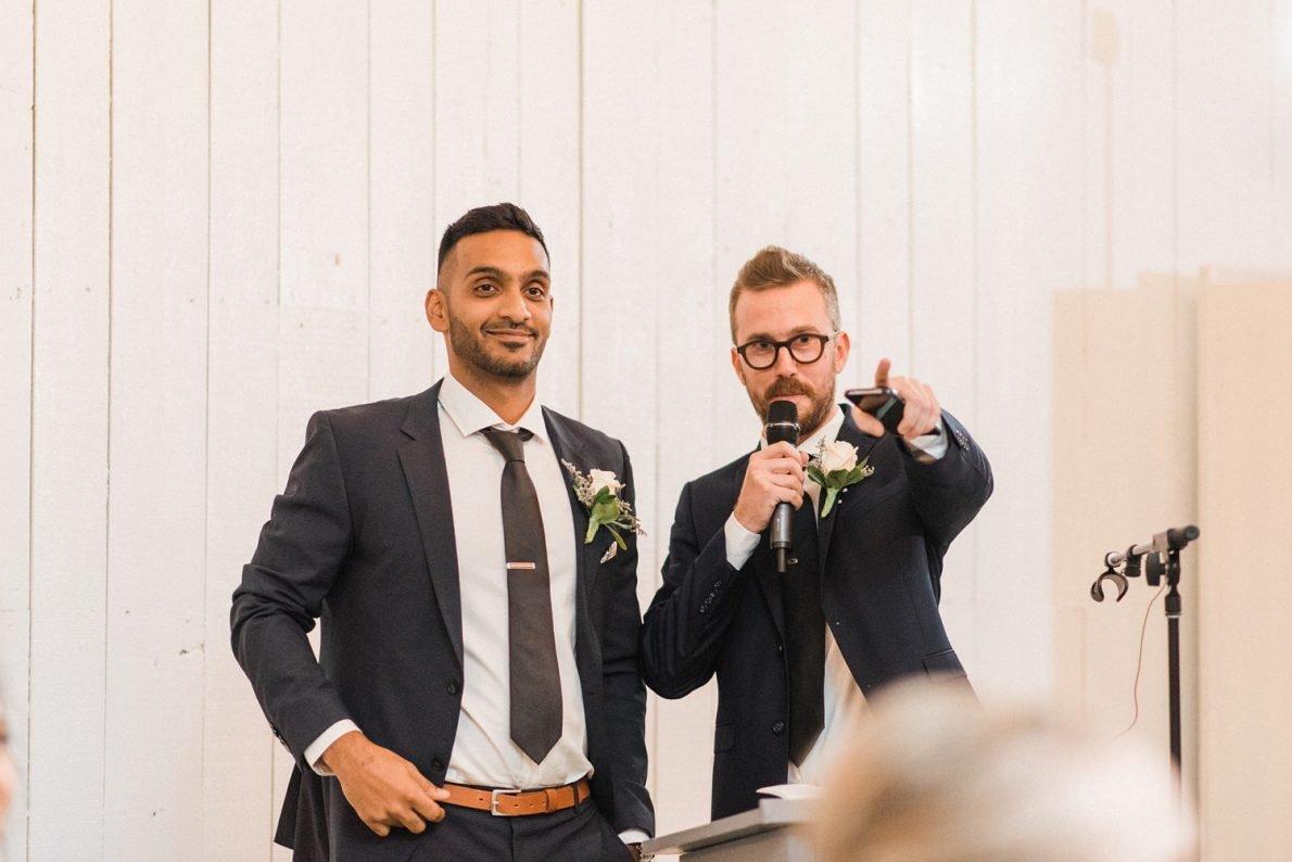 Best Man Speech Berkeley Fieldhouse Toronto Wedding Photographer