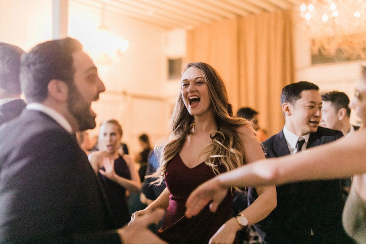 Dance Party Berkeley Fieldhouse Toronto Wedding Photographer