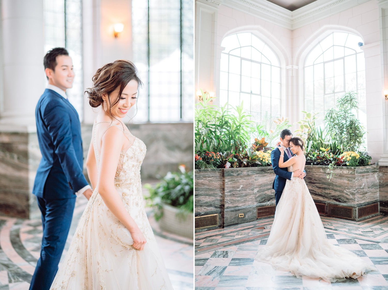 Bride and Groom at Castle Casa Loma Observatory Wedding Toronto Wedding Photographer