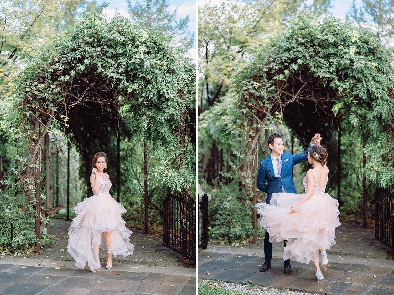 Dancing Bride and Groom at Castle Casa Loma Wedding Toronto Wedding Photographer