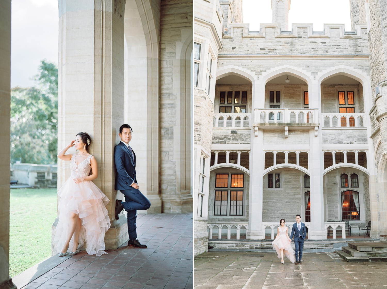 Hong Kong Bride and Groom at Castle Casa Loma Wedding Toronto Wedding Photographer
