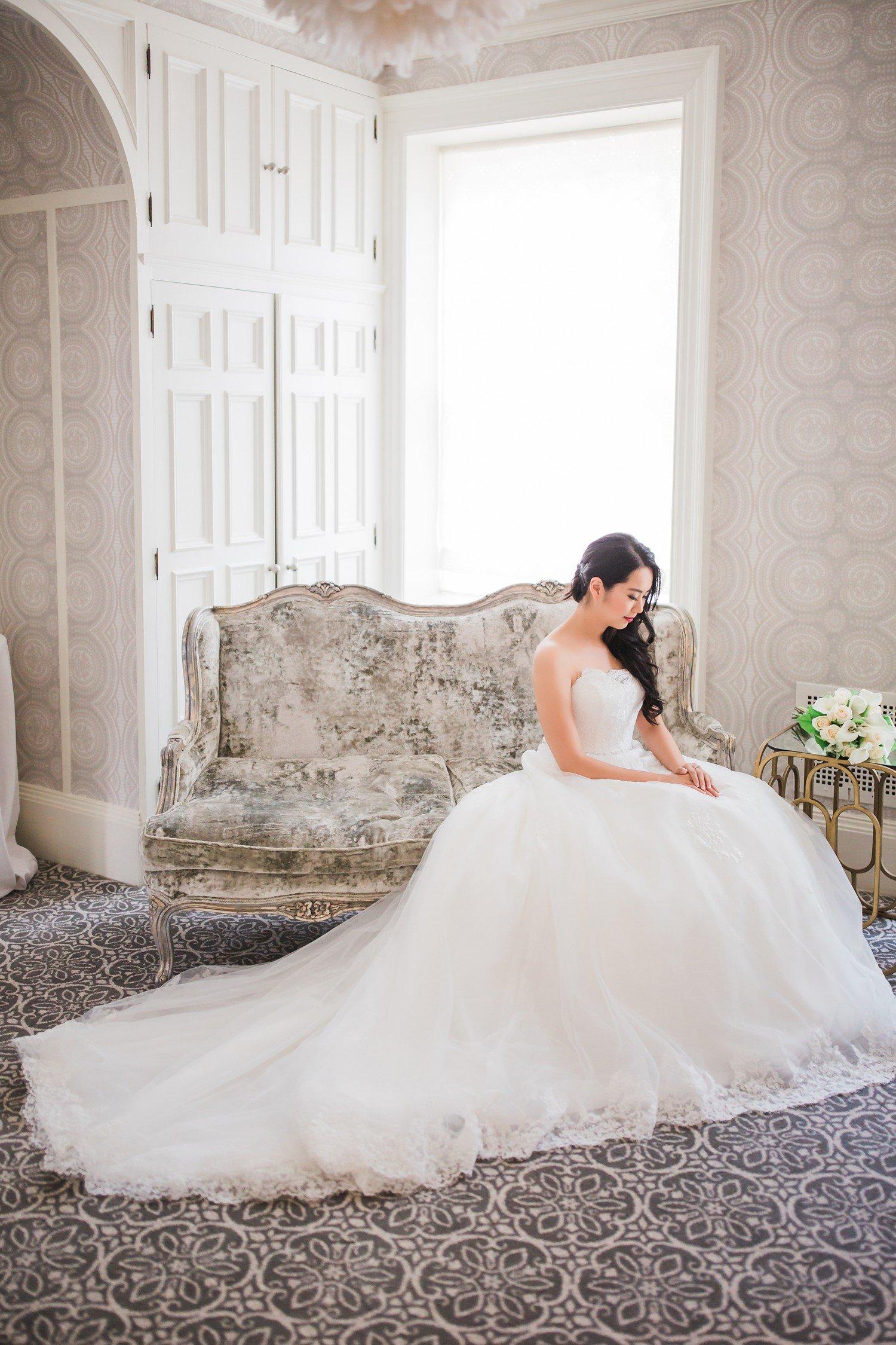 Bride Graydon Hall Manor PreWedding Photos Toronto International Wedding Photographer