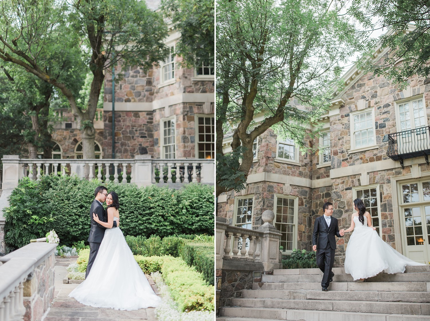 Outdoor wedding portraits Graydon Hall Manor PreWedding Photos Toronto International Wedding Photographer