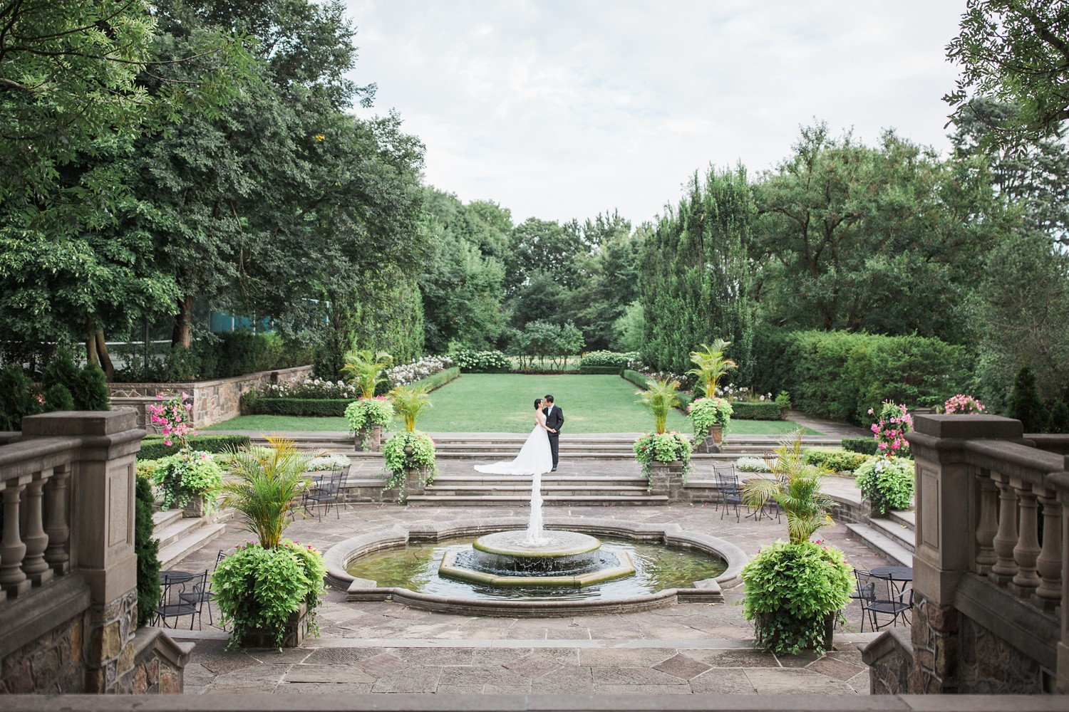 Epic Bride and Groom Portraits Graydon Hall Manor PreWedding Photos Toronto International Wedding Photographer