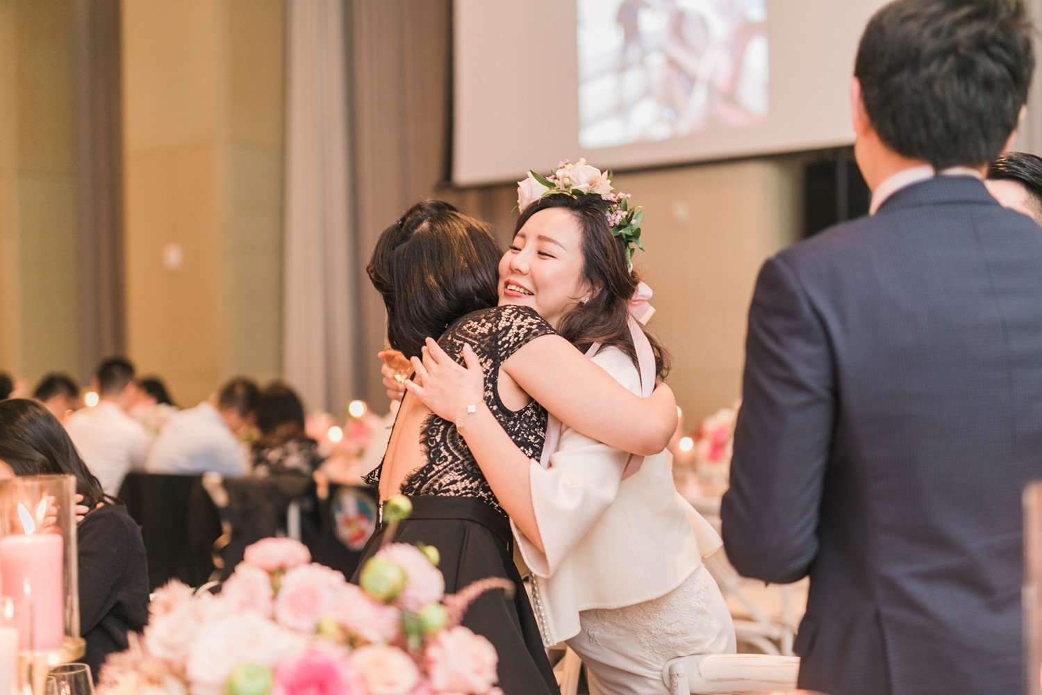Wedding Candid Moments Vinci Room Luxury Yorkville Toronto Four Season Hotel Wedding Photos with Chinese Bride and Groom