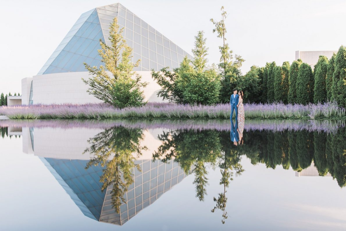 Toronto Aga Khan Museum Wedding Proposal Photographer