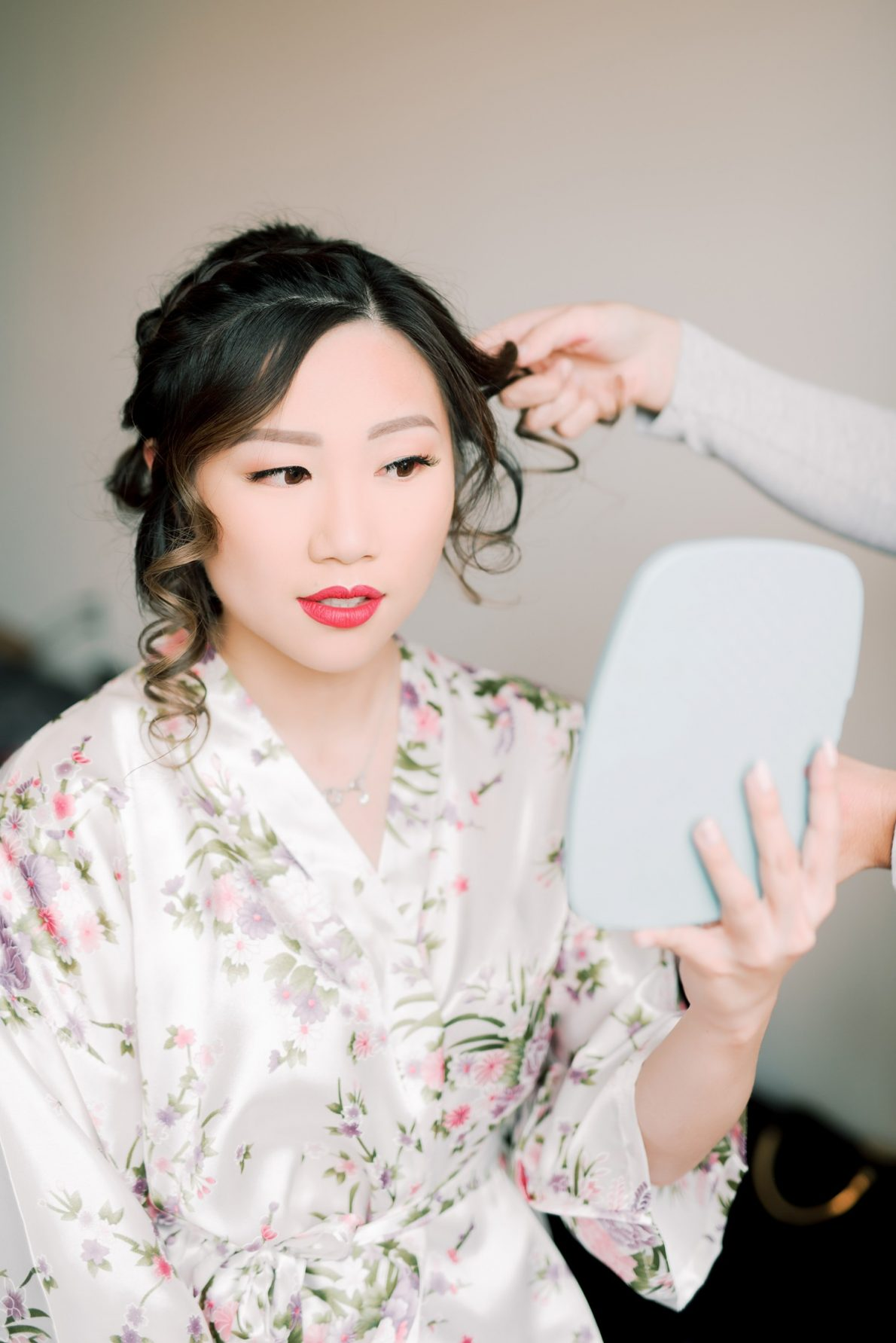 Bride Hair and Makeup Hong Kong Modern Guild Inn Wedding Photos