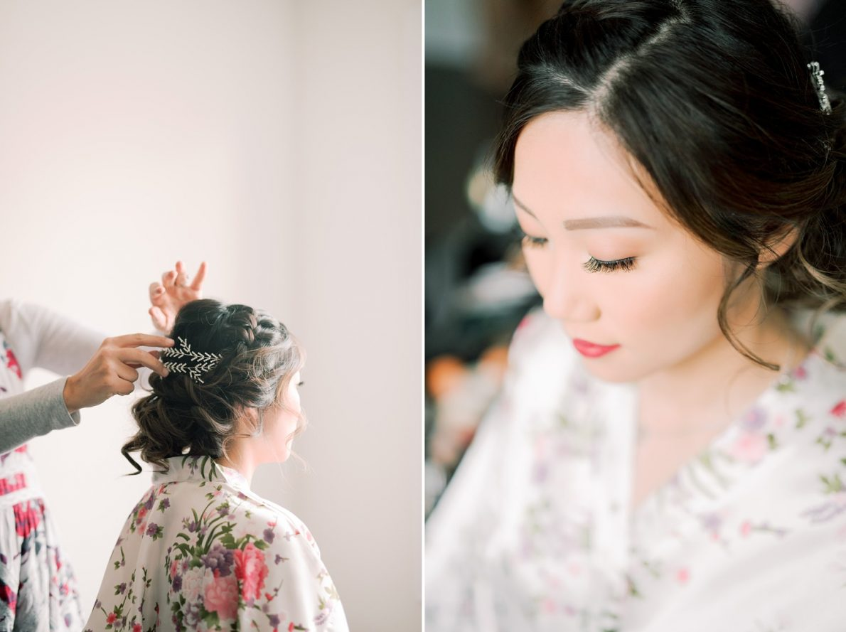 Bridal Hair Hong Kong Modern Guild Inn Wedding Photos