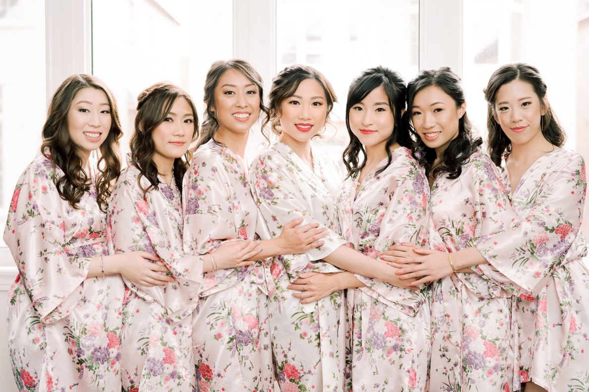 Bridesmaids Hong Kong Modern Guild Inn Wedding Photos
