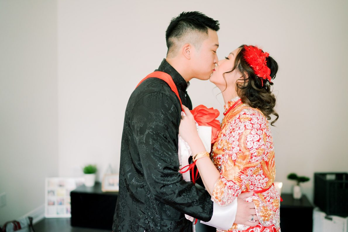 Chinese Bride and Groom Hong Kong Modern Guild Inn Wedding Photos