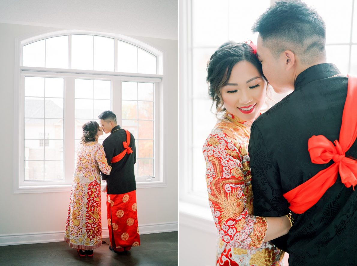 Chinese Couple Hong Kong Modern Guild Inn Wedding Photos