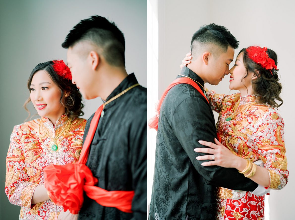 Happy Couple Hong Kong Modern Guild Inn Wedding Photos