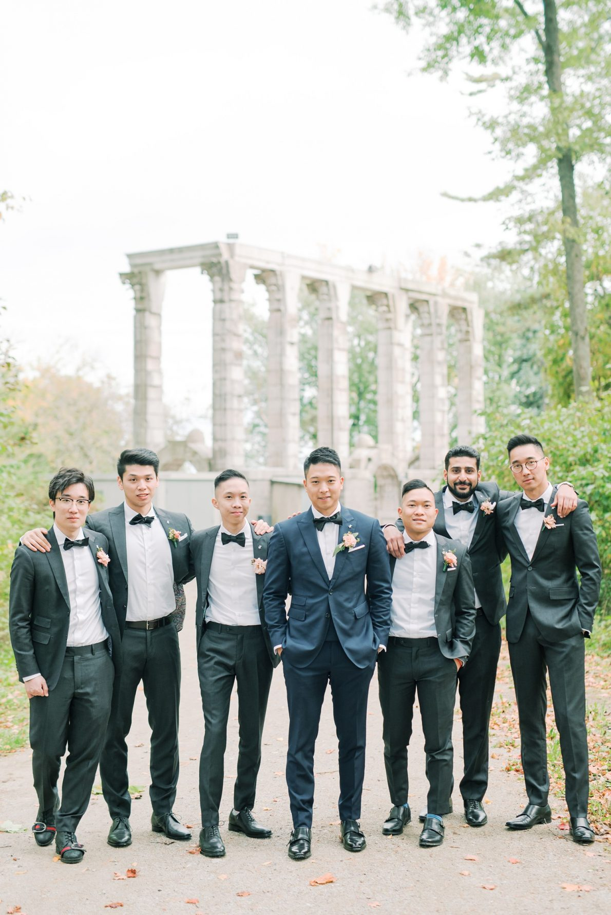 Groomsmen Hong Kong Modern Guild Inn Wedding Photos
