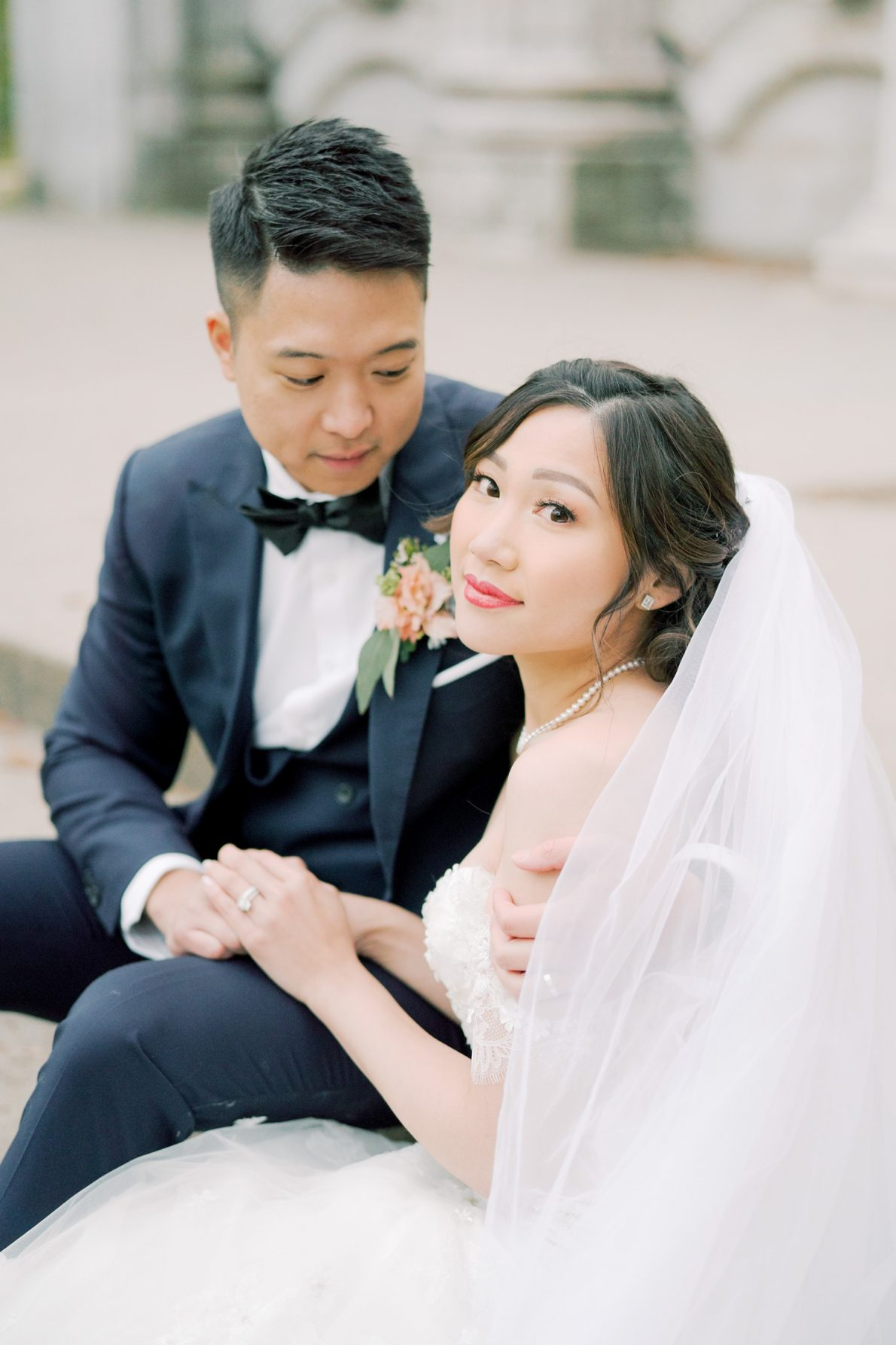 Elegant Bride Hong Kong Modern Guild Inn Wedding Photos
