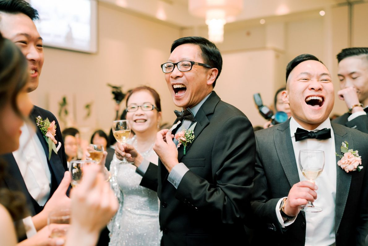 Happy Dad Hong Kong Modern Guild Inn Wedding Photos