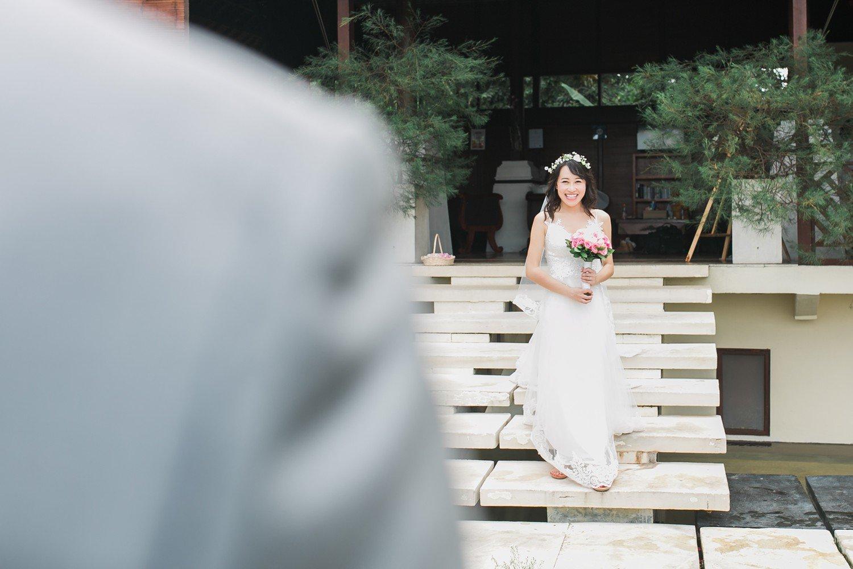 First Look Elopement Bali Ubud Kupu Kupu Barong Destination Wedding Photos Rhythm_Photography