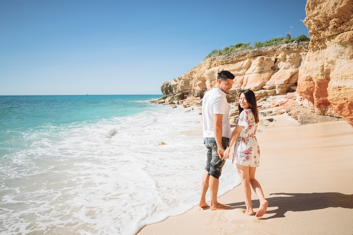 Cupecoy_Beach_Royal_Caribbean_Cruise_to_St.Maarten_Island_Harmony_of_The_Seas_Destination_Engagement_Photos