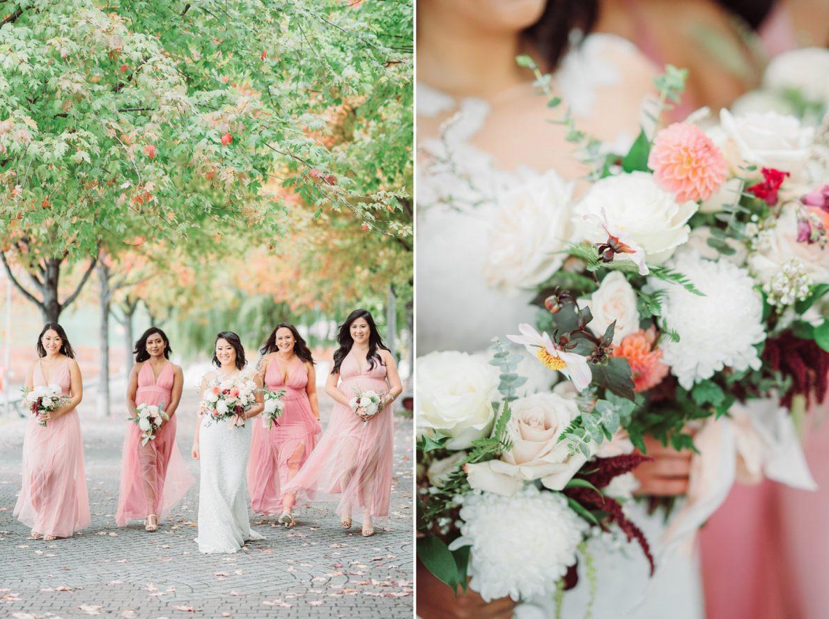 Bridesmaids_Flowers_Distillery_District_Thompson_Landry_Gallery_Toronto_Wedding_Photos-Rhythm_Photography