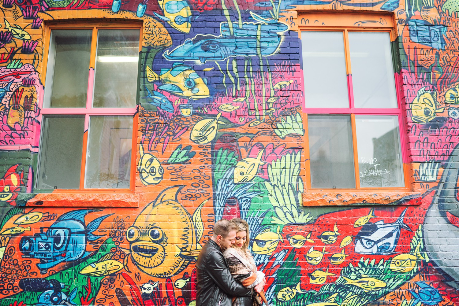 Multicolor_Toronto_Graffiti_Alley_Engagement_Photos-Rhythm_Photography