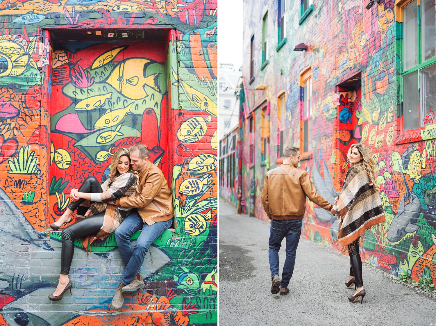 Colorful_Toronto_Graffiti_Alley_Engagement_Photos-Rhythm_Photography