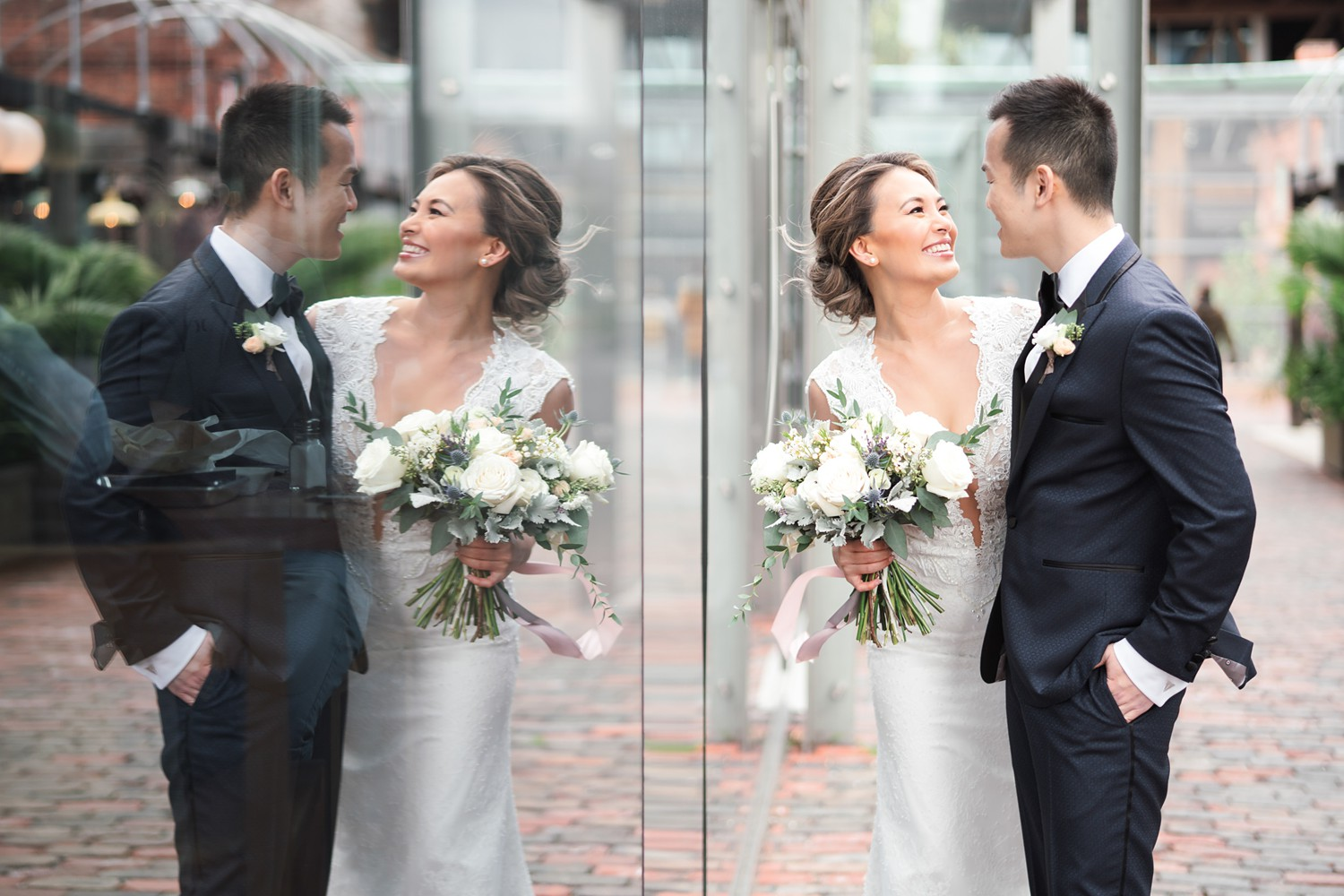 Reflections_Archeo_Distillery_District_Wedding_Photos_Toronto_Destination_Wedding_Photographer-Rhythm_Photography