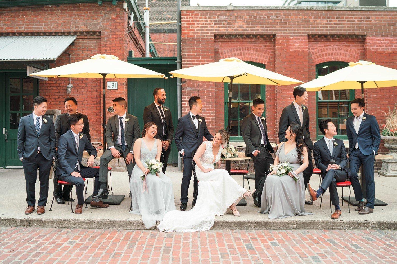 Wedding_party_Archeo_Distillery_District_Wedding_Photos_Toronto_Destination_Wedding_Photographer-Rhythm_Photography