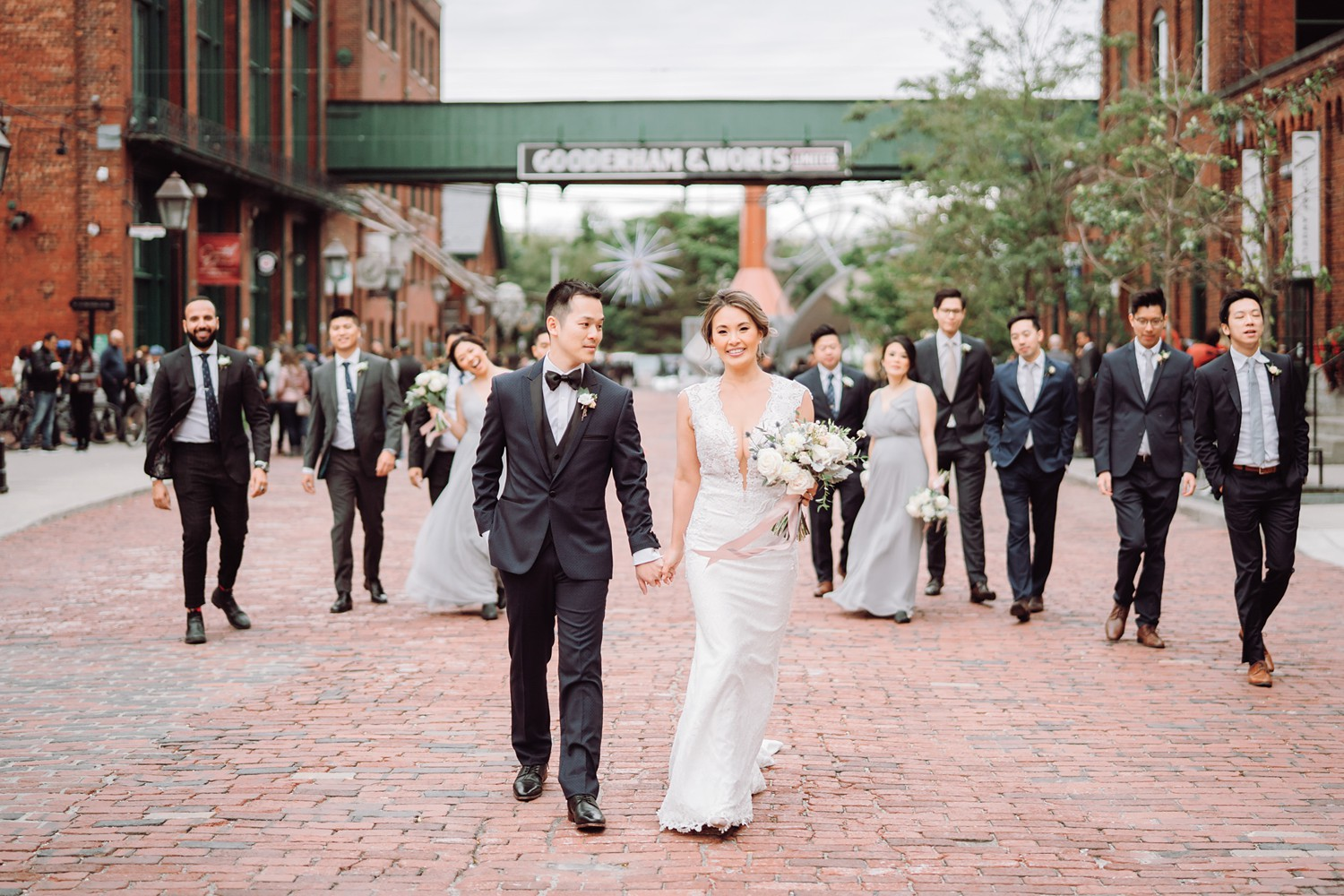 Wedding_Party_Archeo_Distillery_District_Wedding_Photos_Toronto_Destination_Wedding_Photographer-Rhythm_Photography