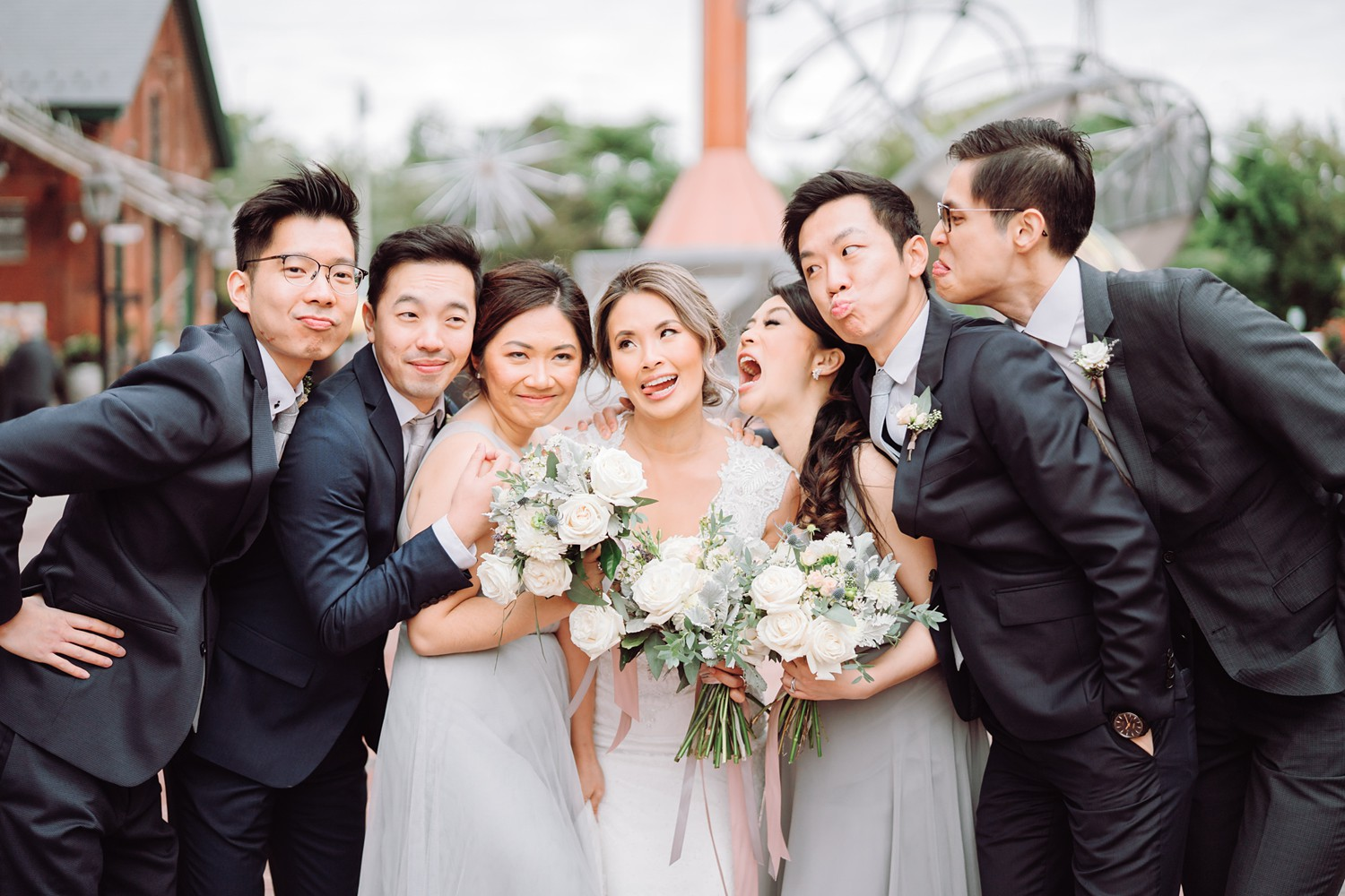 Bridal_Party_Archeo_Distillery_District_Wedding_Photos_Toronto_Destination_Wedding_Photographer-Rhythm_Photography