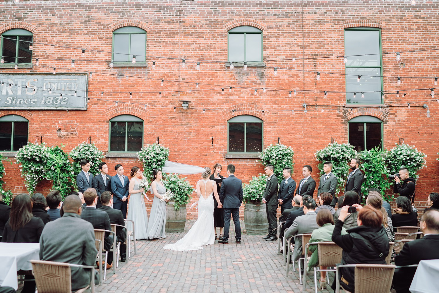 Outdoor_Ceremony_Archeo_Distillery_District_Wedding_Photos_Toronto_Destination_Wedding_Photographer-Rhythm_Photography