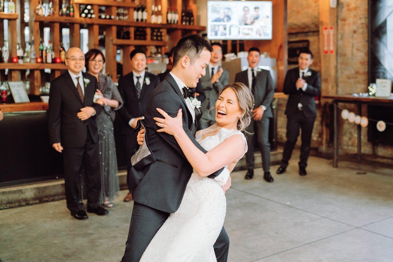 First_Dance_Archeo_Distillery_District_Wedding_Photos_Toronto_Destination_Wedding_Photographer-Rhythm_Photography