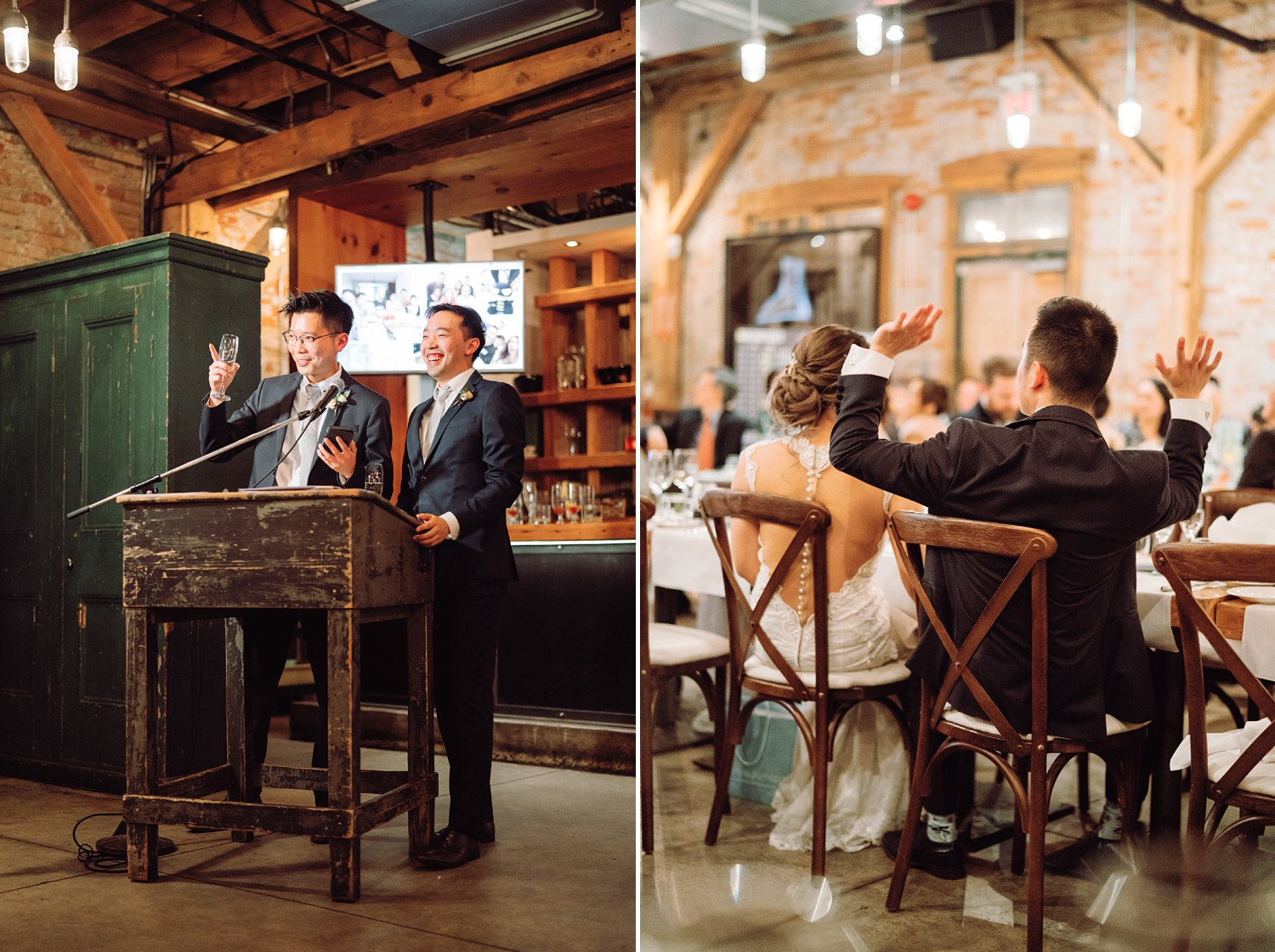 Speeches_Archeo_Distillery_District_Wedding_Photos_Toronto_Destination_Wedding_Photographer-Rhythm_Photography