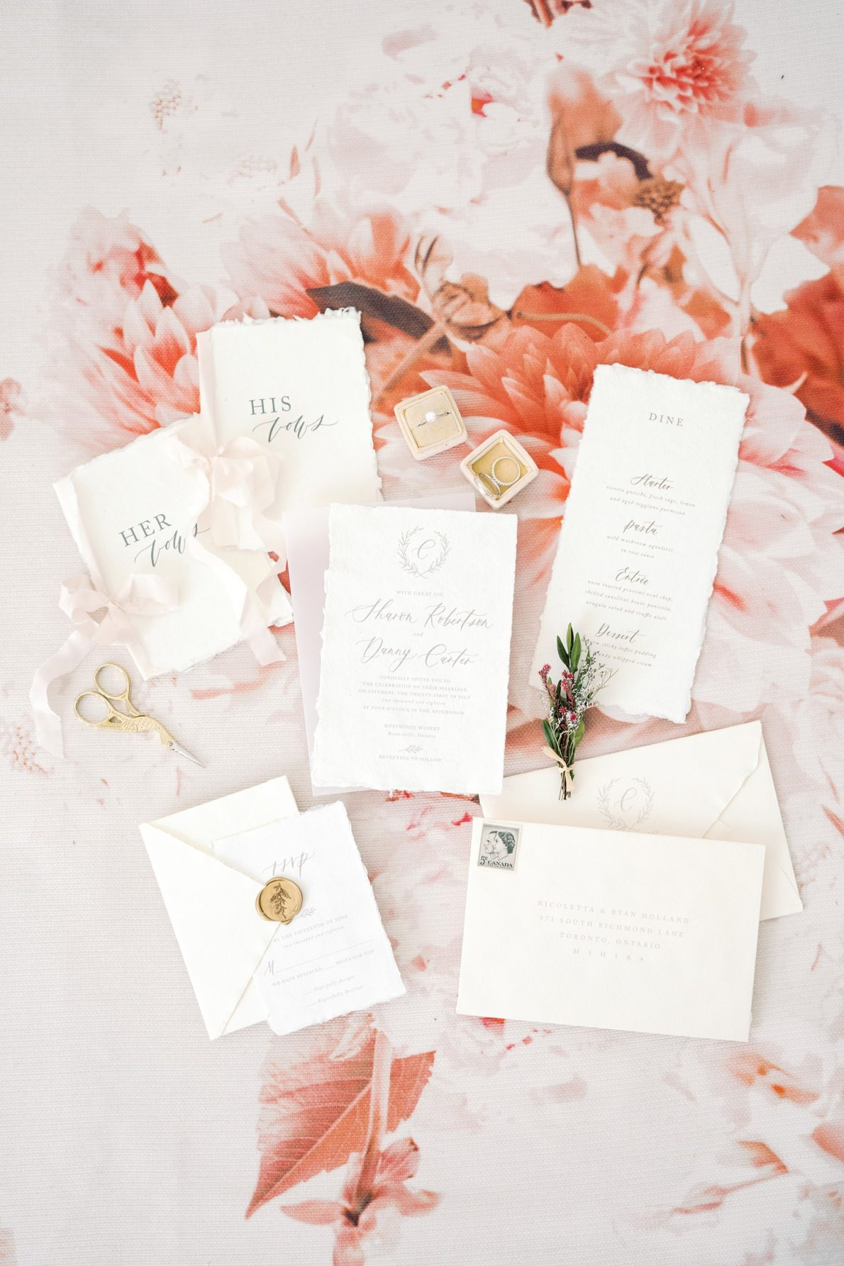 Blush_Florals_Invitations_Calligraphy-Wedding-Stationary-Ivory_and_Twine-Rhythm_Photography