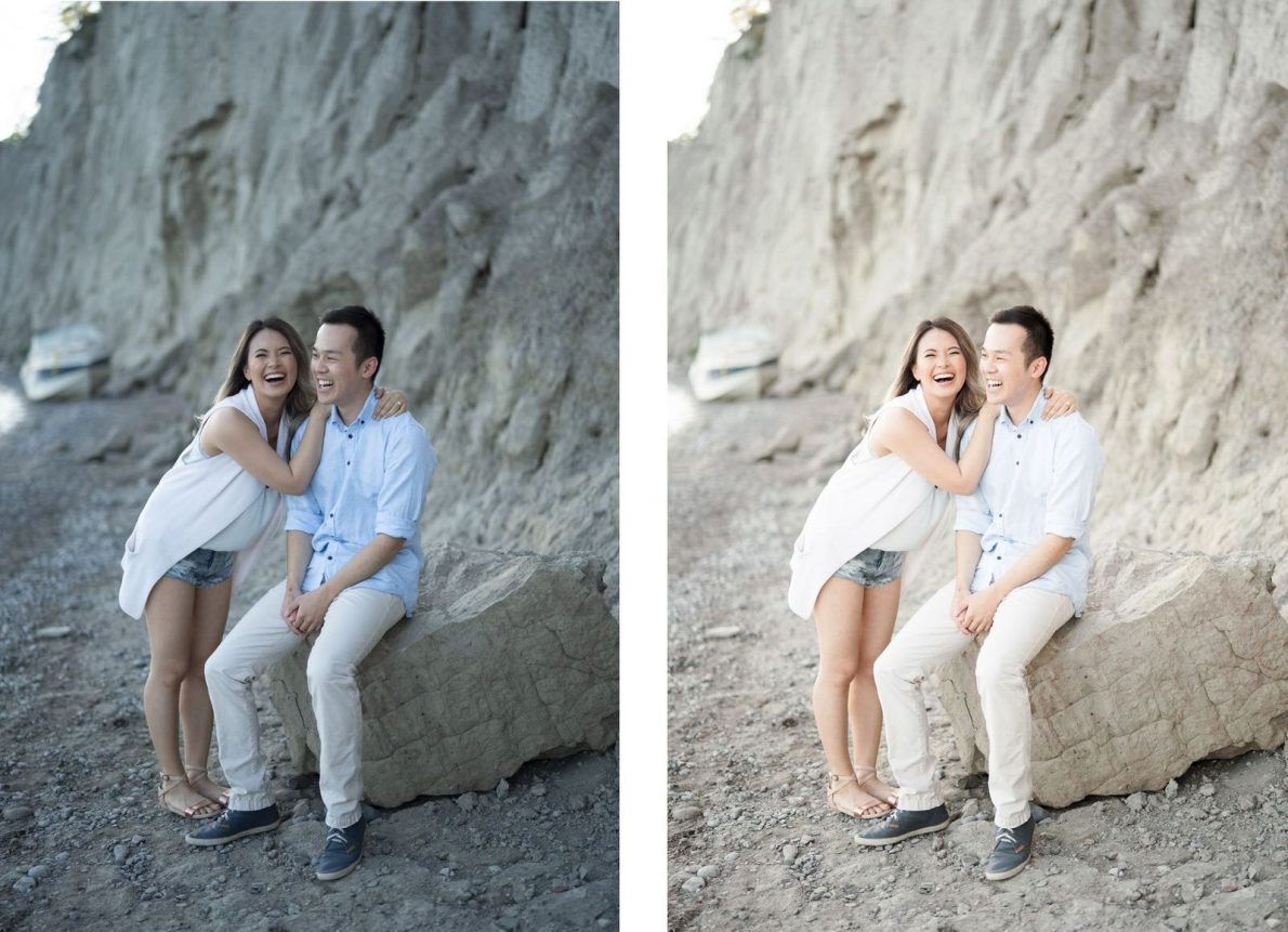 Toronto Wedding Photographer Before and After Editing Education Tutorial